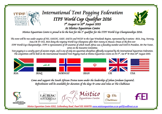 International Tent Pegging World Cup Qualifier